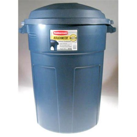 Rubbermaid Roughneck 32 Gallon Trash Can Set Of 8