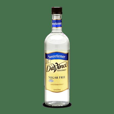 - DaVinci Gourmet Sugar Free Syrup, Sugar Free Sweetener, 750ml
