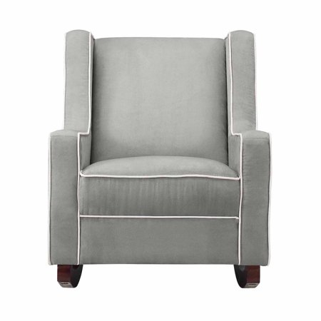 Baby Relax Abby Nursery Rocker, Gray