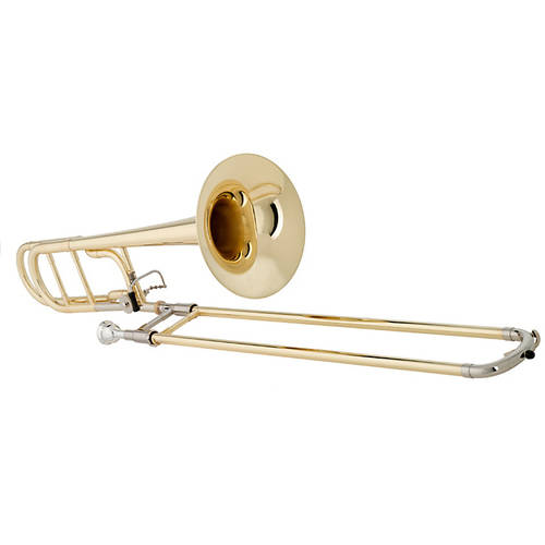 Getzen, 547 Capri Tenor Trombone .547 Bore, Lacquer Finish by Getzen