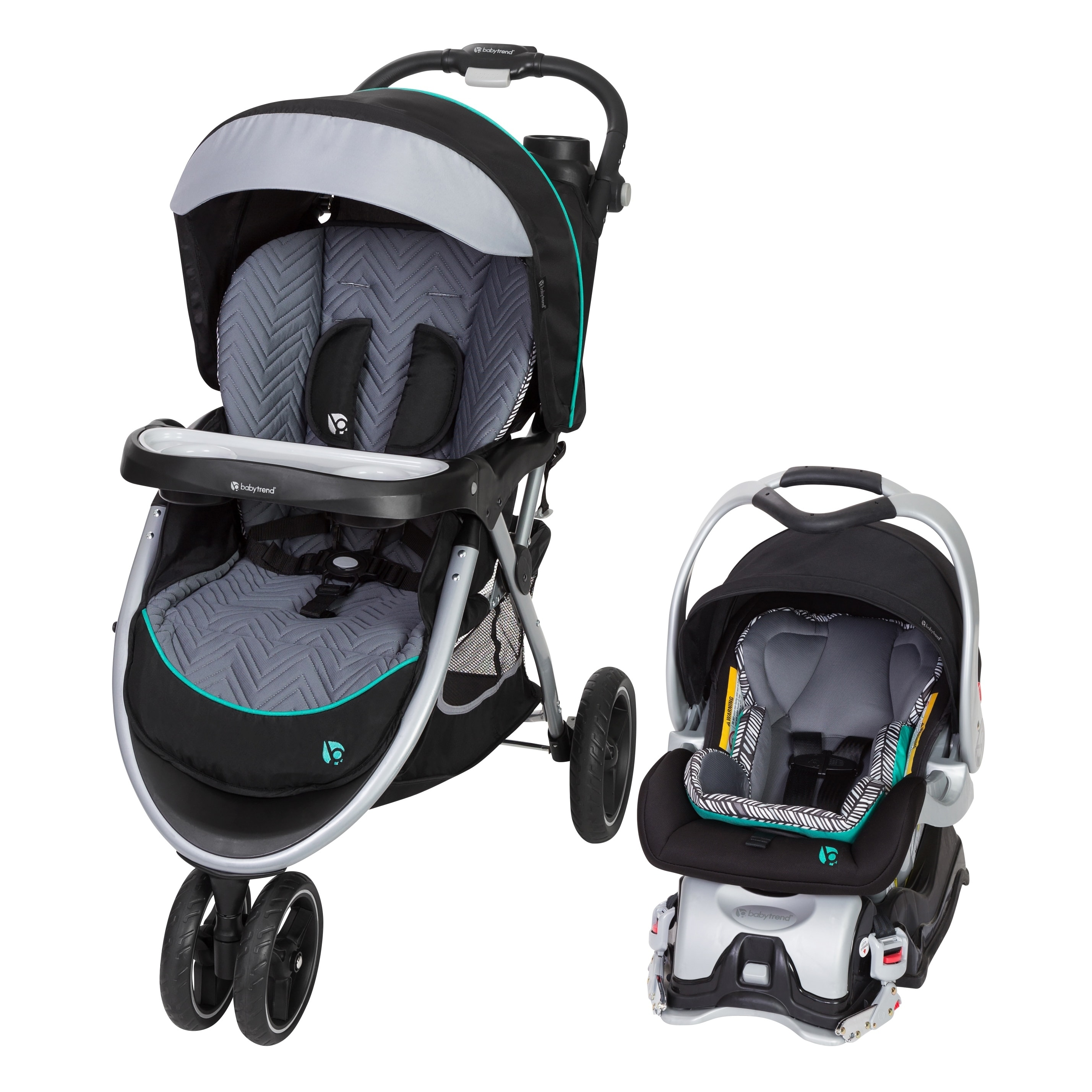 BABY TREND SKYVIEW PLUS TRAVEL SYSTEM - ZIGGY