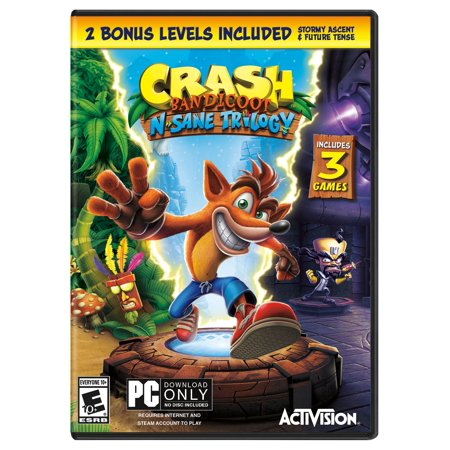 Crash N. Sane Trilogy, Activision, PC,