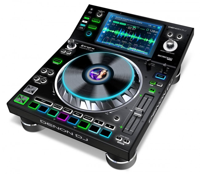 Denon DJ SC5000PRIME DJ Media Controller - 7 Inch Touch Screen