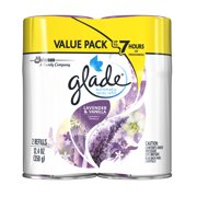 Glade Automatic Spray Air Freshener Refill, Lavender Vanilla, 12.4 Ounces, 2 count