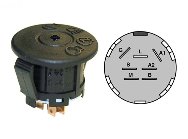 Stens 430-220 Ignition Switch