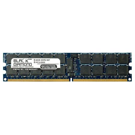 4GB RAM Memory for IBM System X Series x3655 7943 240pin PC2-5300 DDR2 RDIMM 667MHz Black Diamond Memory Module Upgrade