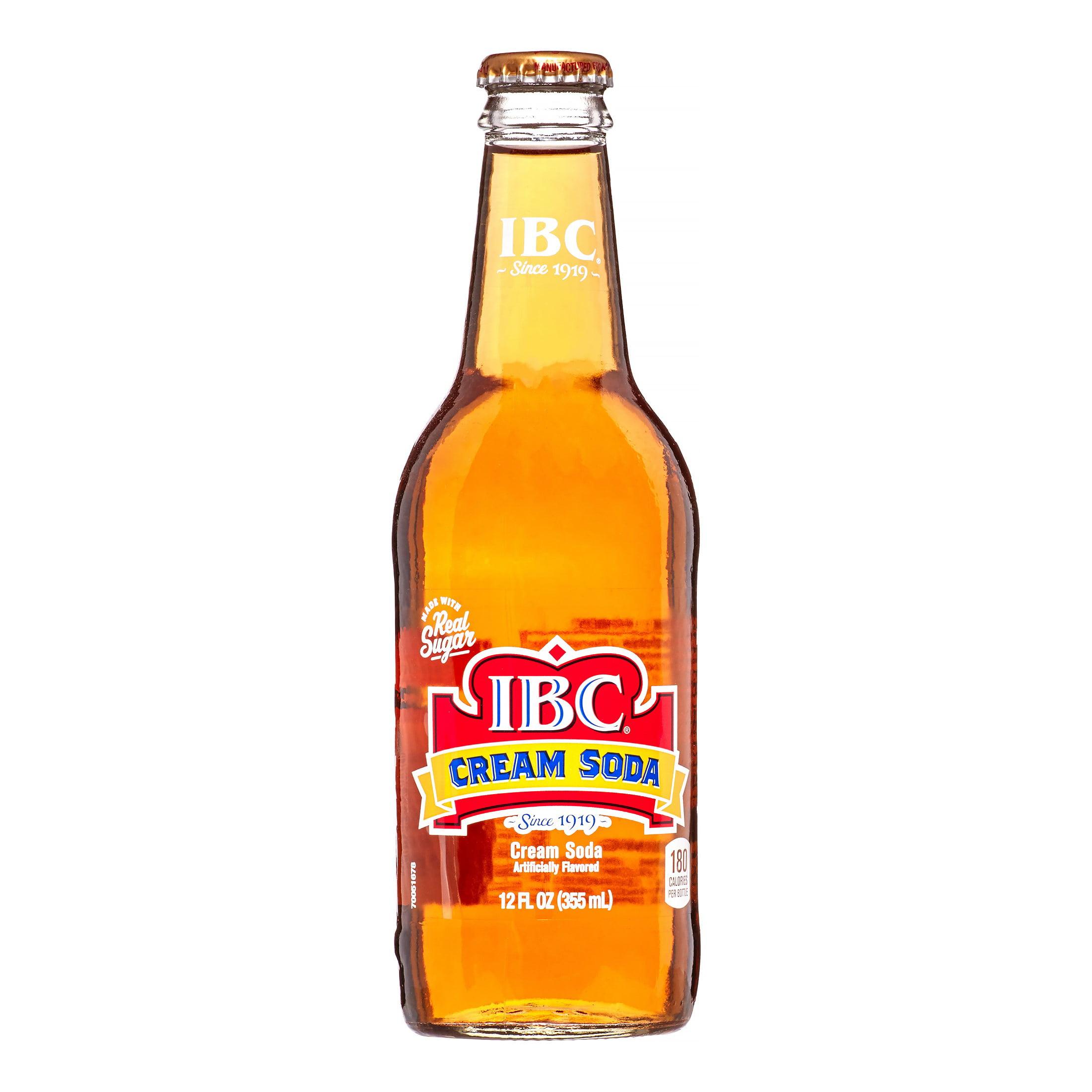 IBC Soda, Cream, 12 Fl Oz - Walmart.com