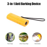 3 in 1 Anti Barking Stop Bark Device Portable Handheld Pet Dog Repeller Control Training Device Trainer With LED