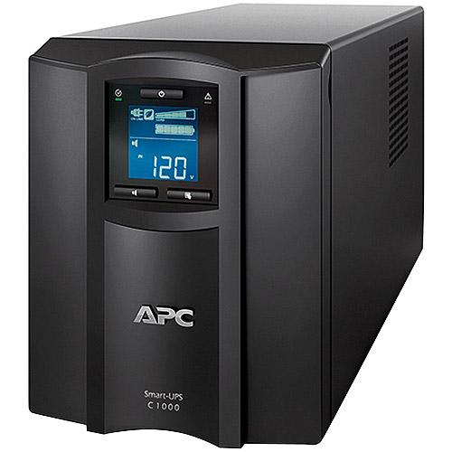 APC Smart-UPS C 1000VA 120V Uninterruptible Power Supply with LCD Display