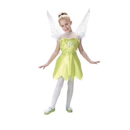 Tinker Bell Child Halloween Costume, One Size - S (4-6)