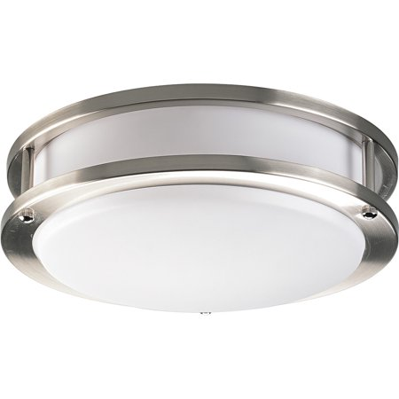 Progress Lighting P7249EBWB Acrylic Round Series Energy Star Qualified Wall/Ceiling Fixture with 120V NPF Electronic Ballast