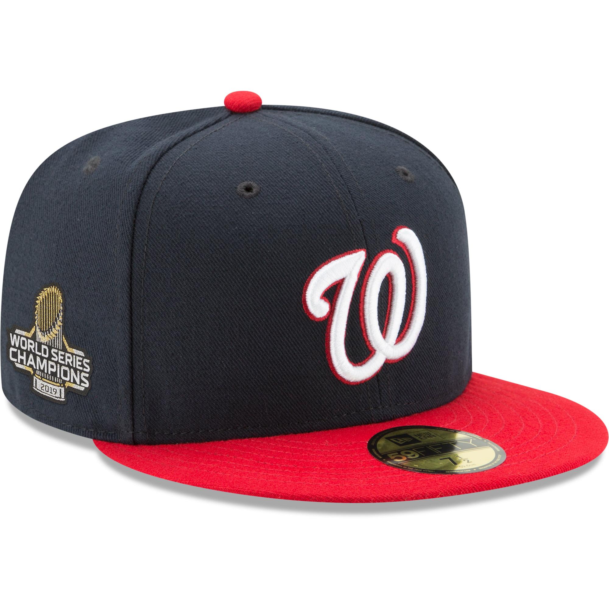 "New Era 59Fifty Cap MLB Washington Nationals /'08 /""DC/"" Kids Red Hat"