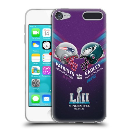 OFFICIAL NFL 2018 SUPER BOWL LII VERSUS SOFT GEL CASE FOR APPLE IPOD TOUCH (Glock Gen 3 Vs Gen 4 Magazines)