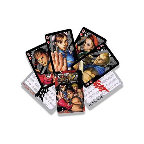 Super Street Fighter 4 Playing Cards
