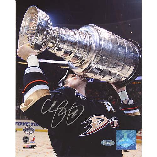 Chris Pronger Stanley Cup Overhead 8x10 Photo