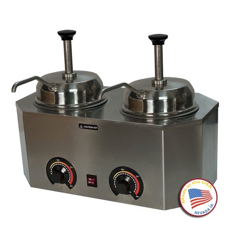 Paragon International Pro-Deluxe Dual Warmer with Pumps