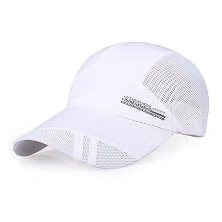 33081ad14 PaZinger Summer Baseball Cap Quick Dry Mesh Back Cooling Sun Hats Flexfit  Sports Caps for Golf Cycling Running Fishing Outdoor Research