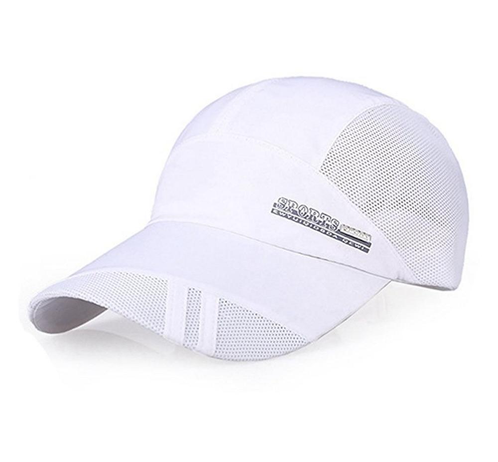 Unisex Summer Baseball Hat Sun Cap Lightweight Mesh Quick Dry Hats Adjustable Cap Cooling Sports Caps