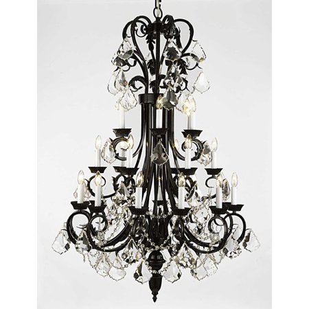 Versailles 24 Light Chandelier - Harrison Lane Versailles 24-Light Crystal Chandelier