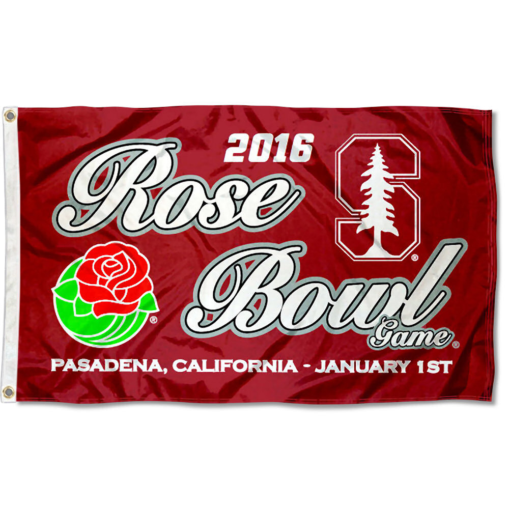 Stanford Cardinal 2015 Rose Bowl 3' x 5' Pole Flag