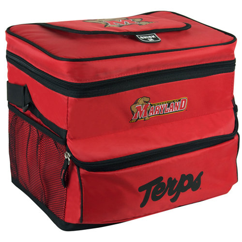 NCAA University Of Maryland 18-Can Cooler with Removable Hardliner