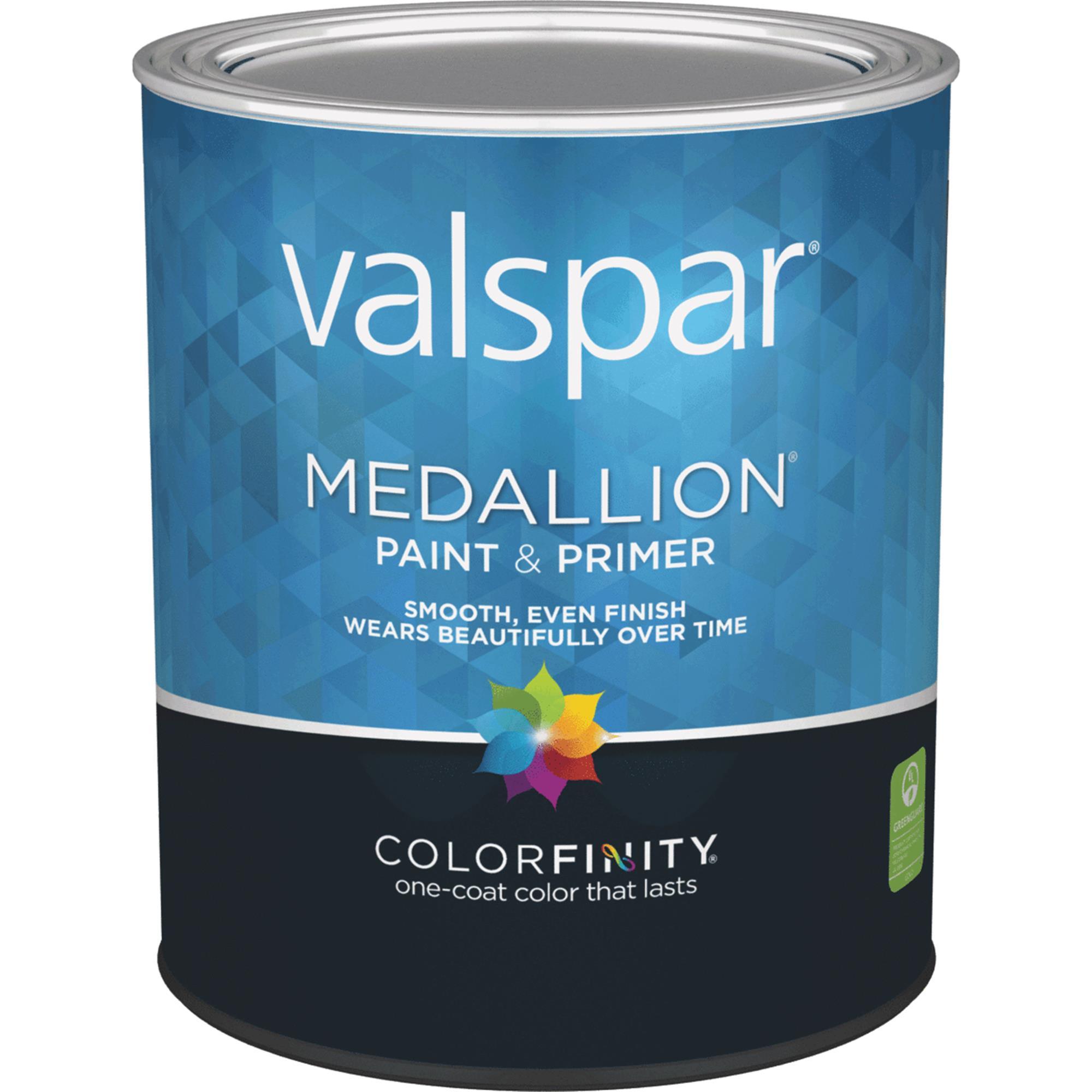 Valspar Medallion 100% Acrylic Paint & Primer Flat Interior Wall Paint