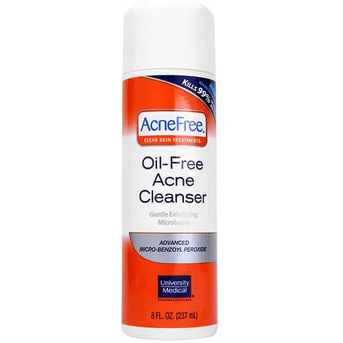 AcneFree Clear Skin Treatments Purifying Cleanser, 8 oz