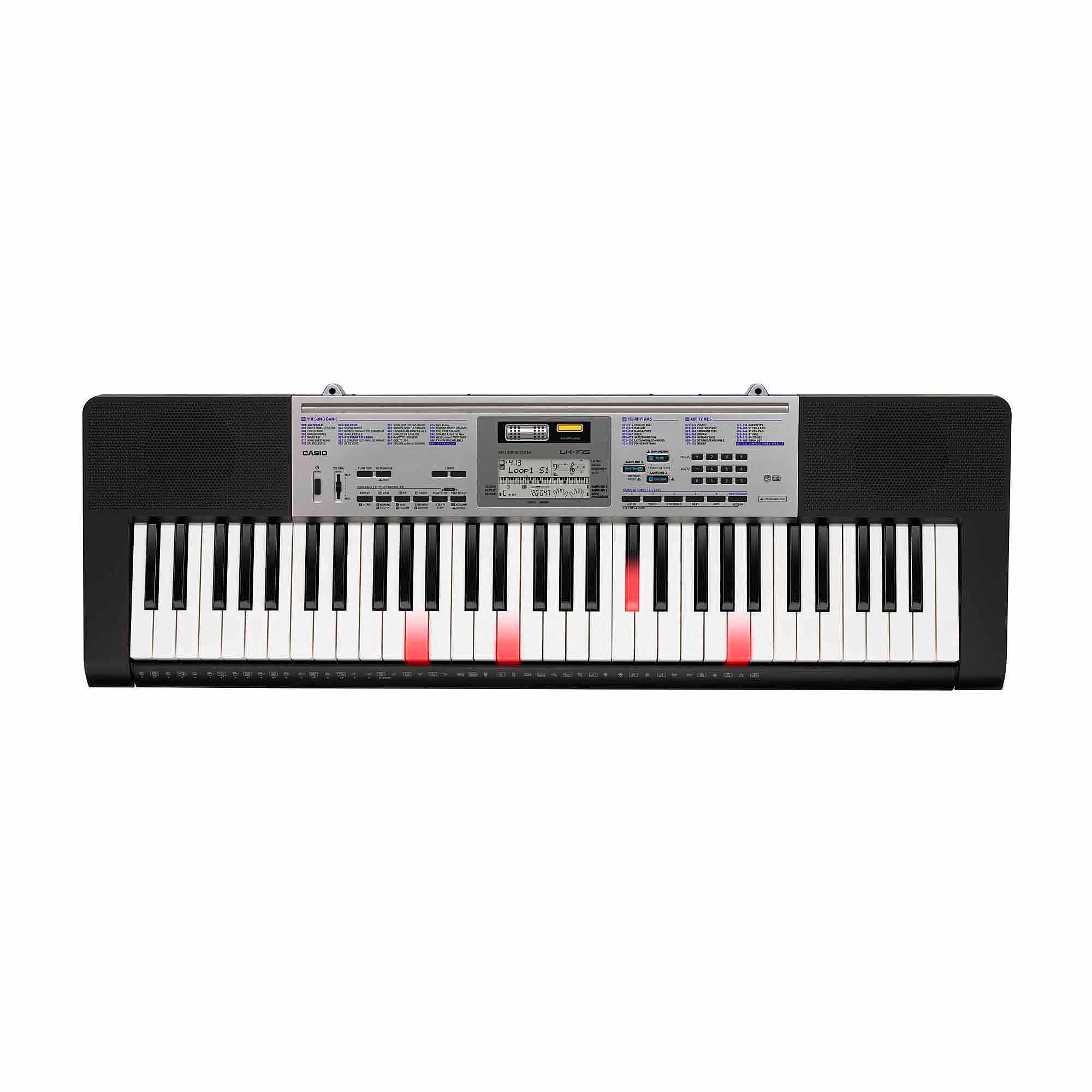 Casio LK-175 61-Lighted-Key Personal Keyboard