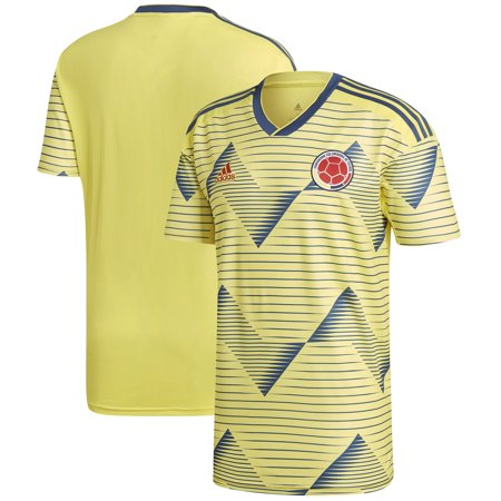 Colombia Home Jersey (Colombia National Team adidas 2019 Home Replica Jersey - Yellow)