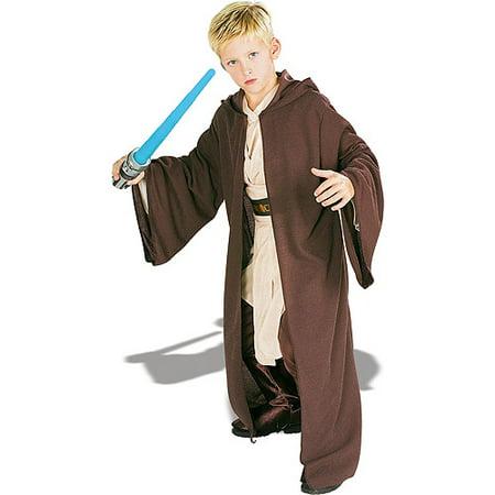 Boy's Deluxe Jedi Knight Robe Halloween Costume - Star Wars (Men's Crusader Knight Costumes)