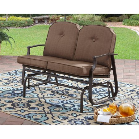 Mainstays Wentworth Outdoor 2-Person Glider Bench (Best Chairs Charleston Glider)