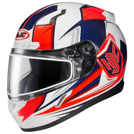 HJC CL-17 Striker Snow Helmet with Dual Lens Shield