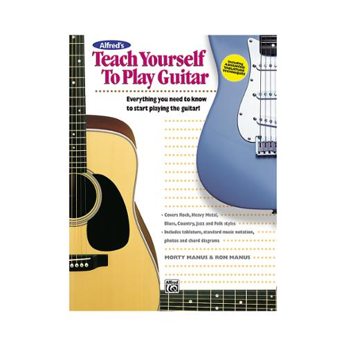 Alfred Alfred's Teach Yourself to Play Guitar by Alfred Publishing