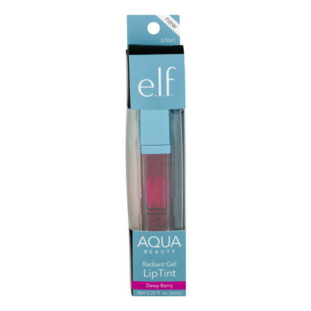 e.l.f. Cosmetics Aqua Beauty Radiant Gel Lip Stain, Dewy Berry