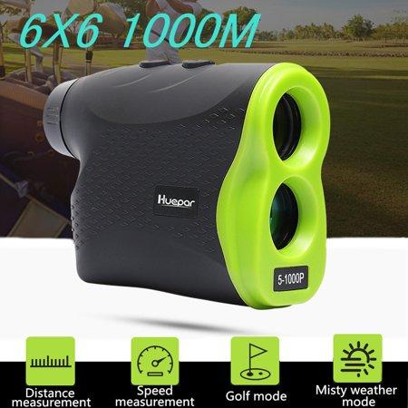 1000M Laser Rangefinder Telescope Distance Height Speed Meter Measurement LCD Outdoor Hunting Golf With Focal Adjustment ()
