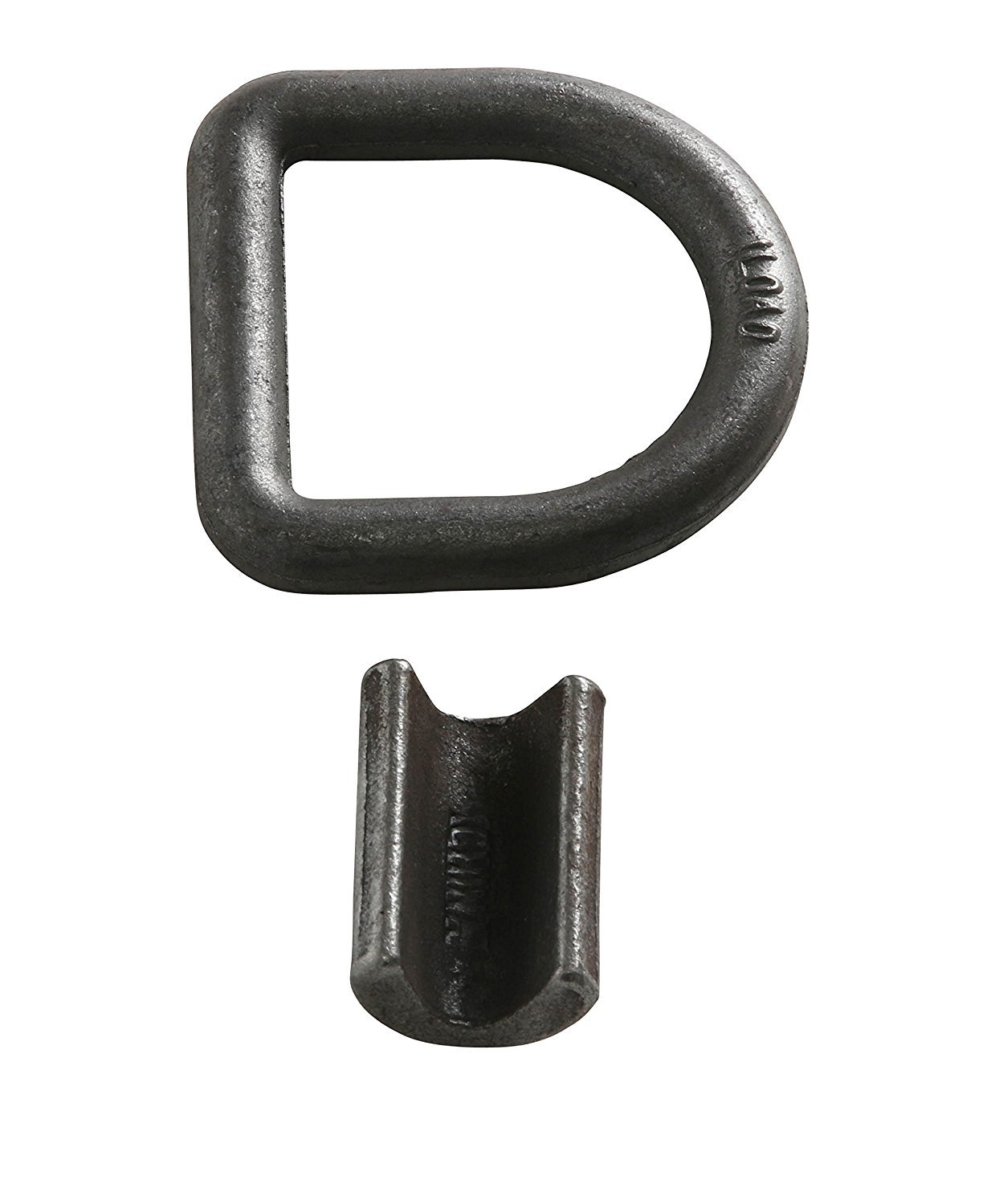 DC Cargo Mall Four Weld-On D Ring Tie Down Anchors 5//8 Forged Steel D Rings with Welding Clips