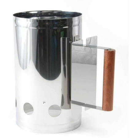 Charcoal Companion Stainless Steel Chimney Charcoal