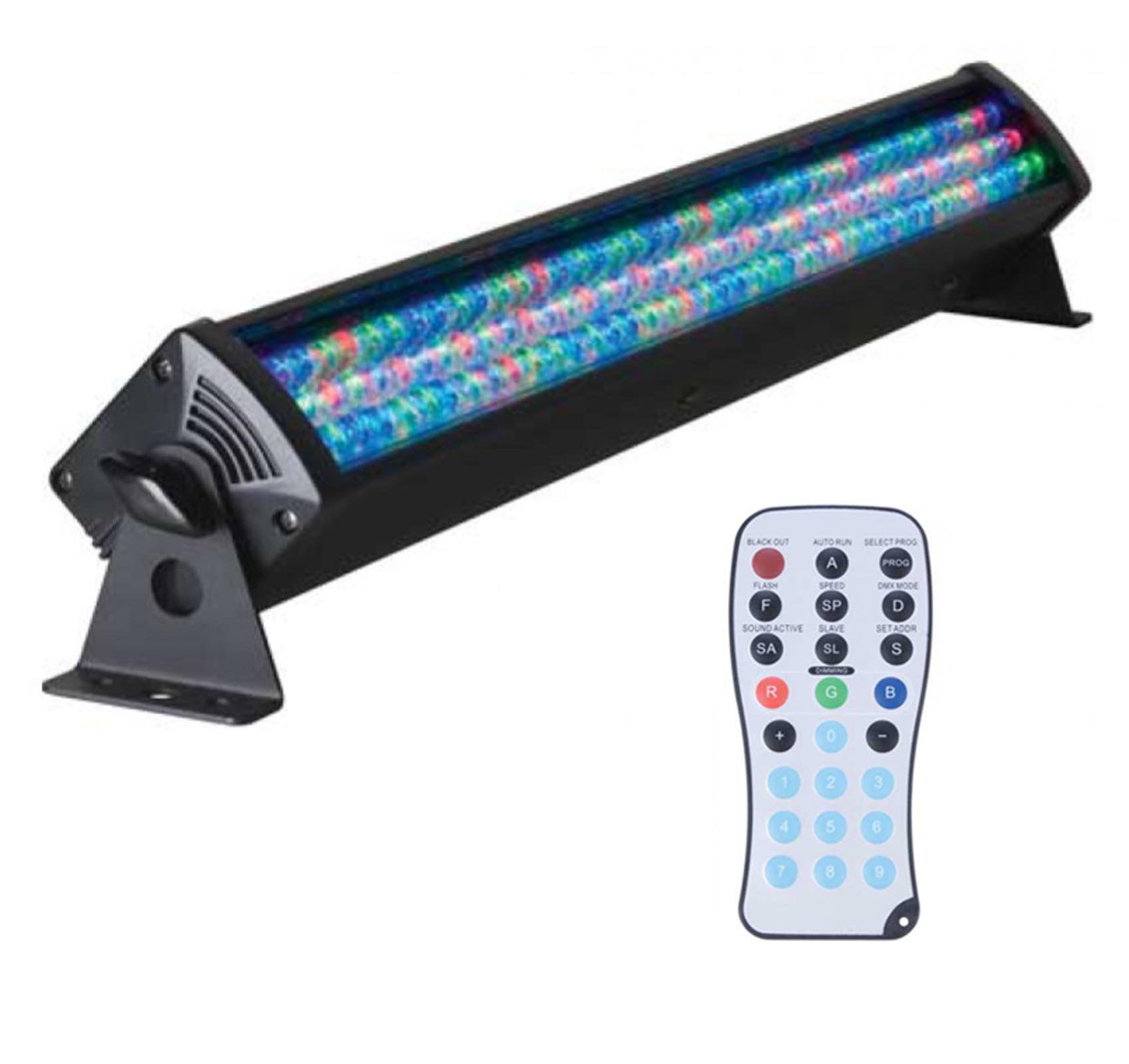 American DJ ADJ Mega Bar 50RGB RC LED 7-Ch DMX RGB Wash Light w/ Wireless Remote
