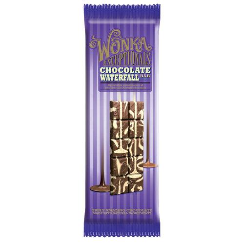 Wonka Exceptionals: Chocolate Waterfall Bar, 3.5 Oz