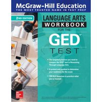 McGraw-Hill Education Language Arts Workbook for the GED Test, Second Edition (Paperback)