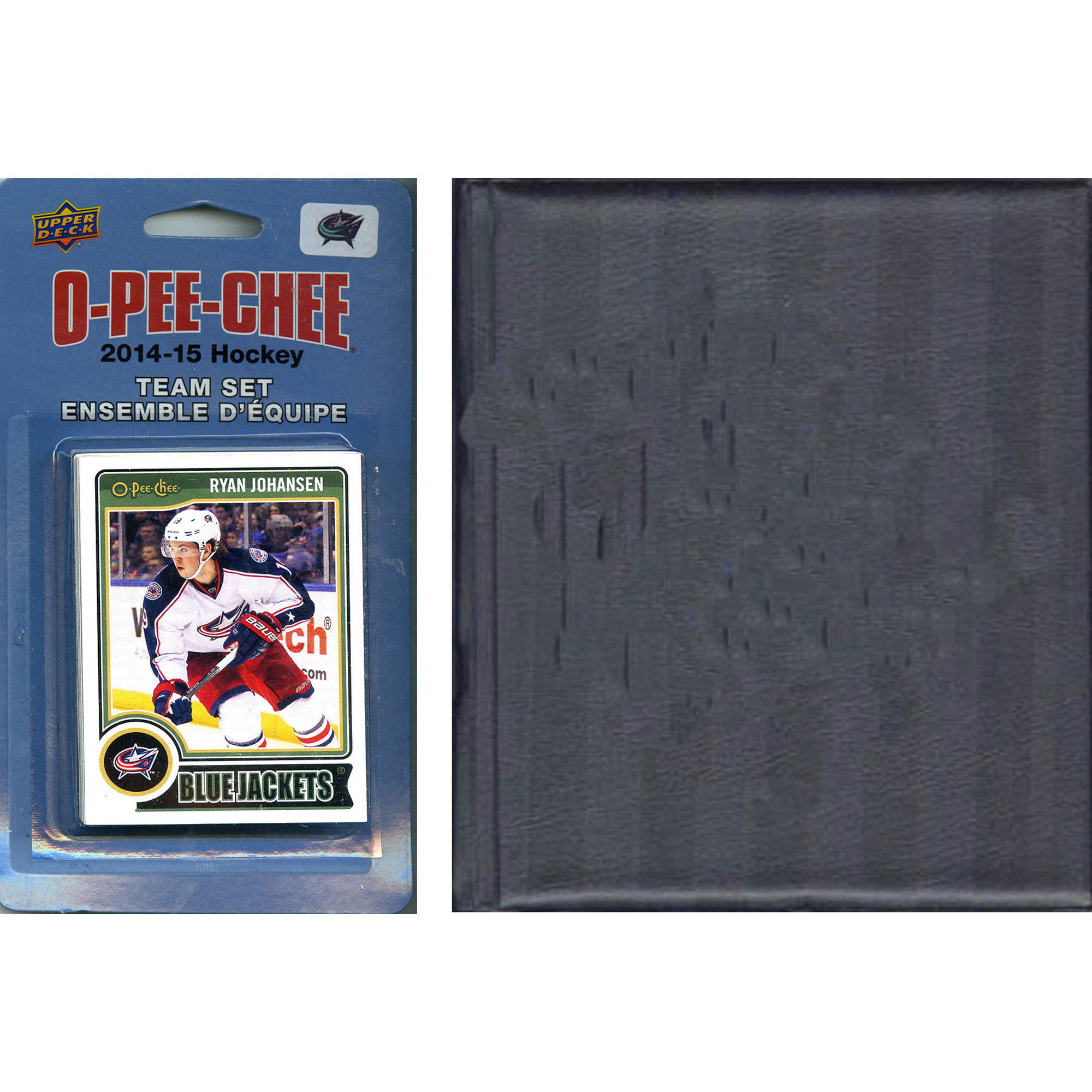C&I Collectables NHL Columbus Blue Jackets 2014 O-Pee-Chee Team Set and Storage Album