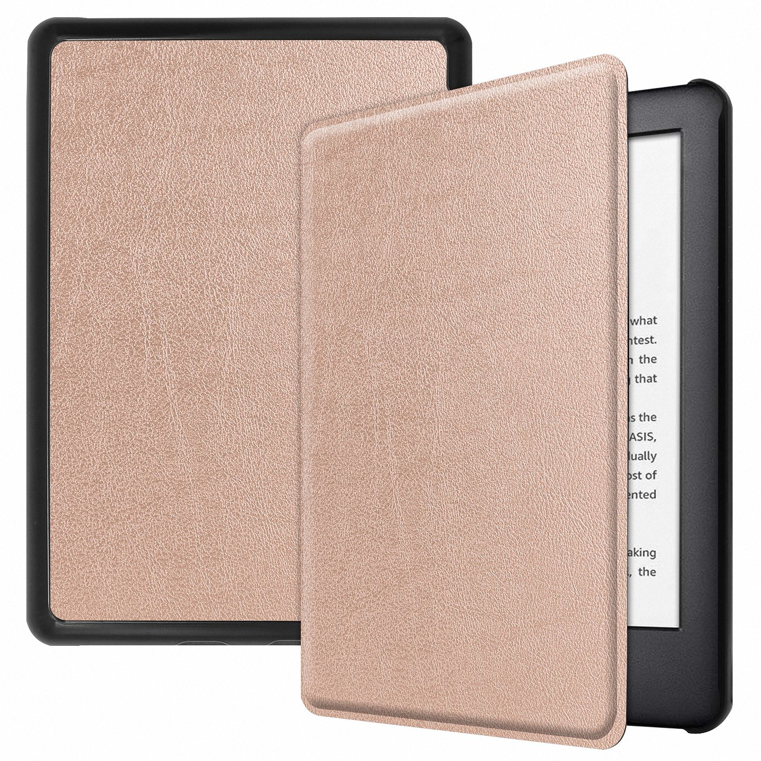 74764e9261 Allytech Folio Case for All-New Amazon Kindle 10th Generation, 2019  Released (NOT for Paperwhite), Ultra Slim Lightweight Full Protection  Shockproof ...