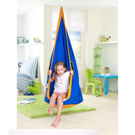1 5m Kids Hanging Swing Seat Hammock Nest Child Chair For Indoor Outdoor
