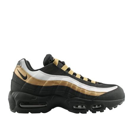 Mens Nike Air Max 95 OG Black Metallic Gold AT2865 002