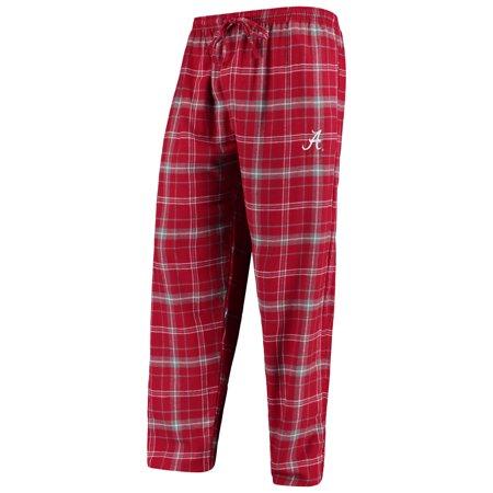 Alabama Crimson Tide Concepts Sport College Ultimate Flannel Pants - Crimson