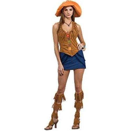 60's Girl Orange Costume Adult Standard - image 1 de 1