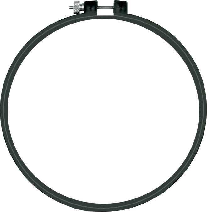 "Dimensions Plastic Embroidery Hoop 6""-"