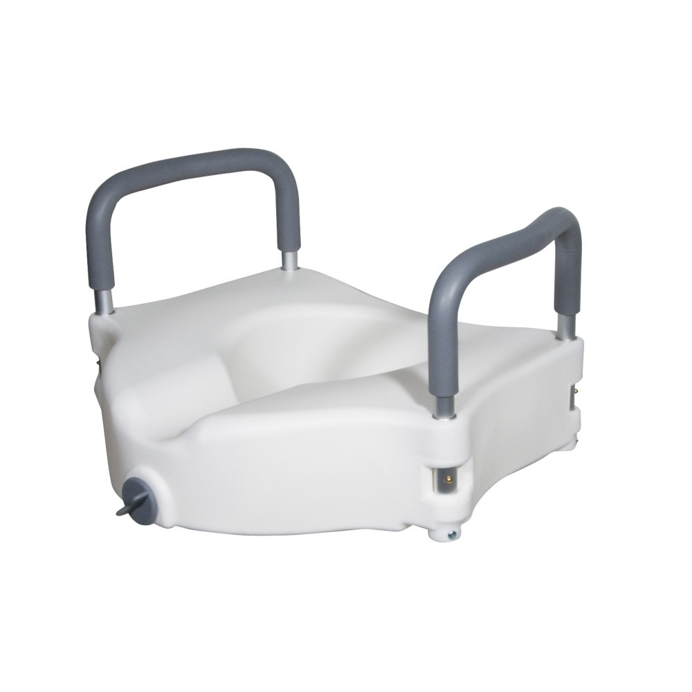 MDS Online   Elevated Raised Toilet Seat & Commode Riser with