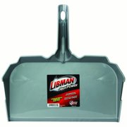 "Libman 581 17"" Gray Industrial Dust Pan by Dust Pans"