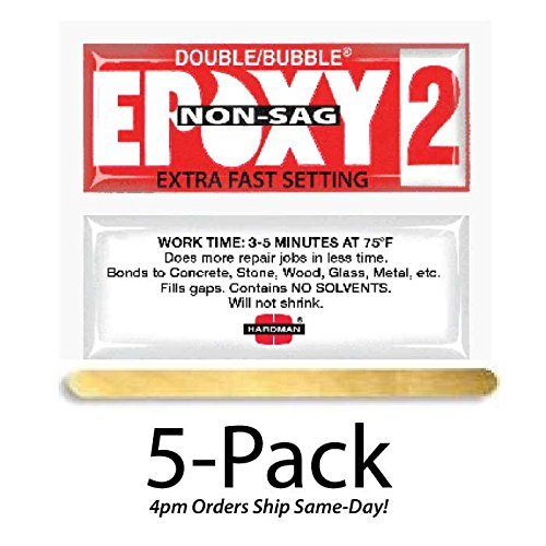 Hardman Double Bubble Red Epoxy2 Extra Fast Setting 35 mi...
